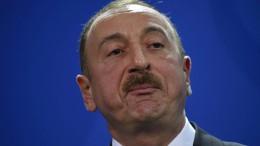 Präsident Alijew mit 86 Prozent wiedergewählt