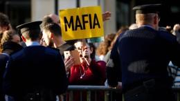 Demonstranten blockieren Maltas Parlament
