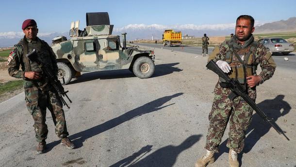 14 Tote bei Angriffen auf Kontrollposten in Afghanistan
