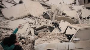 Aktivisten melden 17 Tote bei Luftangriffen