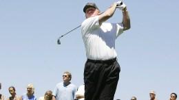 """Golfschwung für Hillary, Spott für den """"Rocket Man"""""""