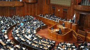 Noda löst Parlament auf