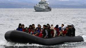 """""""Migrantenboote können abgefangen werden, wenn sie nicht in Not sind"""""""
