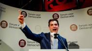 """Thierry Baudet stellt mit seinem rechtspopulistischen """"Forum für Demokratie"""" aus dem Stand die stärkste Partei bei den niederländischen Regionalwahlen."""