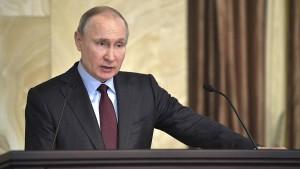 """""""Ein Zeichen für Putins Verzweiflung"""""""