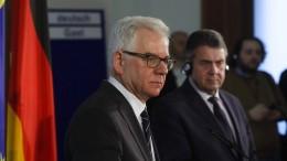 Polnischer Außenminister bedankt sich bei Sigmar Gabriel