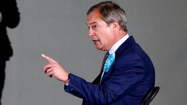 Die Wiederauferstehung des Nigel Farage