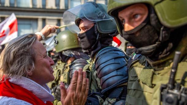 Weitere Festnahmen bei Belarus-Protesten