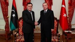 Erdogan gibt Präsenz syrischer Kämpfer in Libyen zu