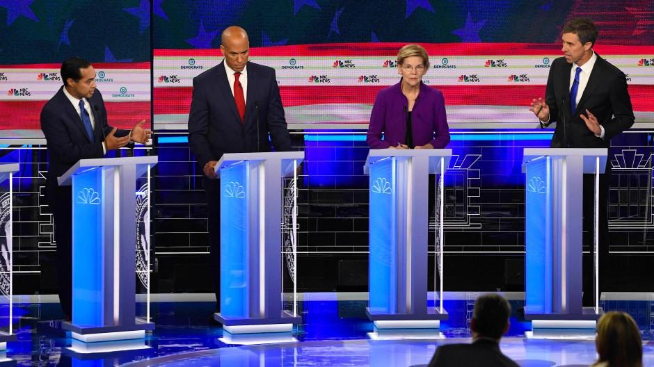 Die Debatte der Demokraten am Donnerstag war nur die erste von vielen.