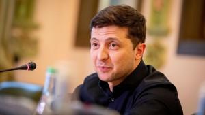 Selenskyj will Ukraine in EU und Nato führen