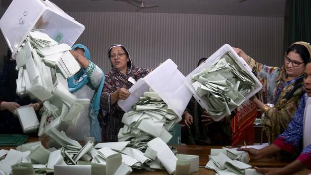 Wahlbehörde bestreitet Fälschung der Ergebnisse