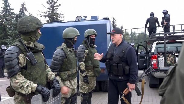 Razzien bei Journalisten in Belarus