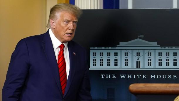 Trump: Biden lässt sich von dunklen Mächten lenken