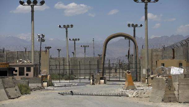 NATO-Soldaten haben Luftwaffenbasis Bagram verlassen