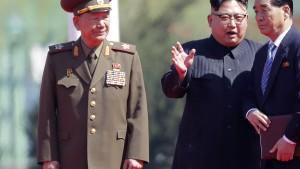 Nordkoreas Militärchef entlassen