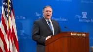 Droht Iran: Mike Pompeo