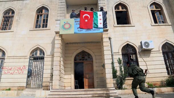 Nach Einnahme von Afrin: Das nächste Ziel ist schon ausgemacht