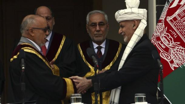 Zwei Vereidigungen in Kabul