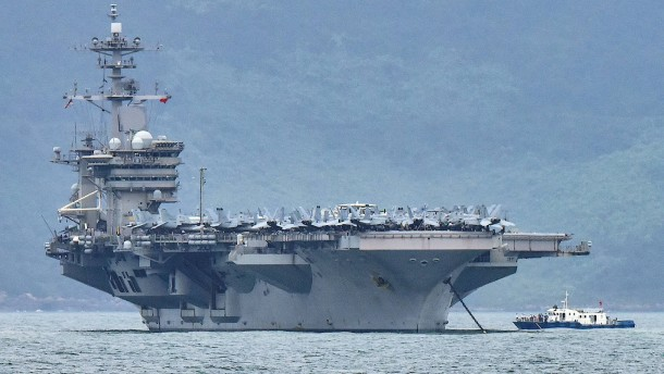 Keine Räumung von Flugzeugträger