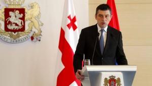 Georgiens Ministerpräsident zurückgetreten