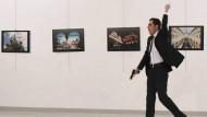 Mevlüt Mert Altintas schoss bei einer Ausstellungseröffnung in Ankara auf den russischen Botschafter Andrej Karlow.