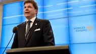 Mit den Stimmen von Rechtsaußen: Andreas Norlén ist Schwedens neuer Reichstagspräsident