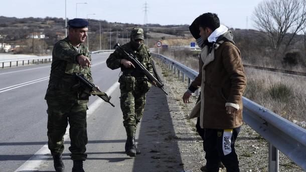 Türkischer Soldat soll auf deutsche Frontex-Polizisten geschossen haben