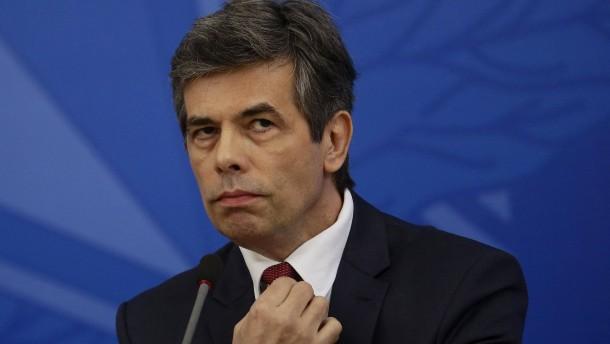 Brasiliens nächster Gesundheitsminister geht