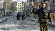 Die syrische Führung verkündete am Donnerstag die vollständige Einnahme der umkämpften Stadt Aleppo.