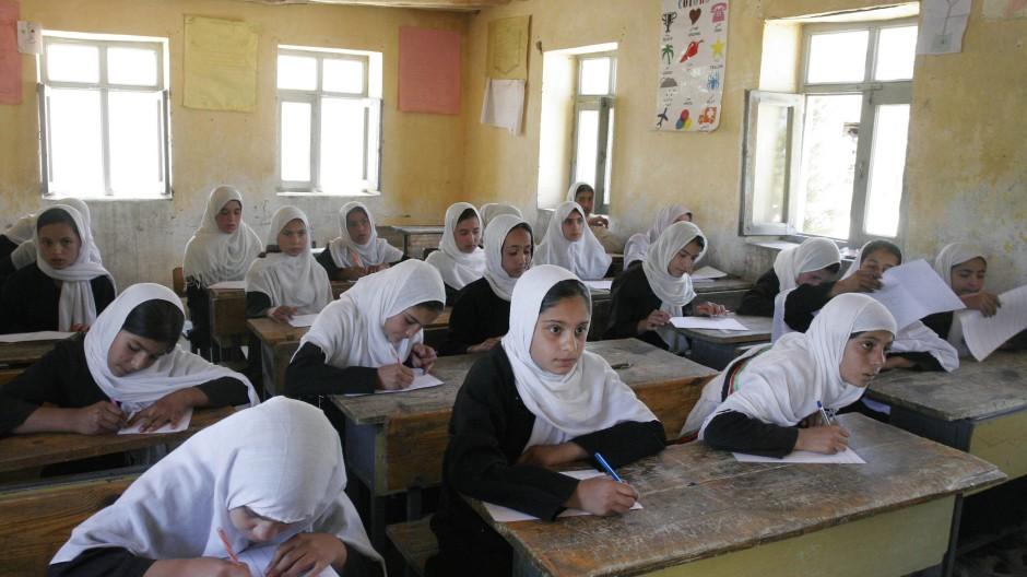 Mädchenschule 2012 in der Nähe von Kabul