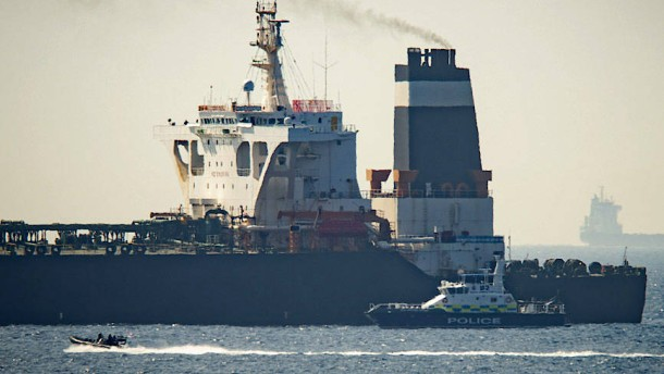Iran droht mit Kaperung britischer Tanker