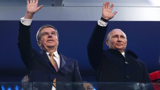 Russland sieht sich nach IOC-Entscheidung als Opfer