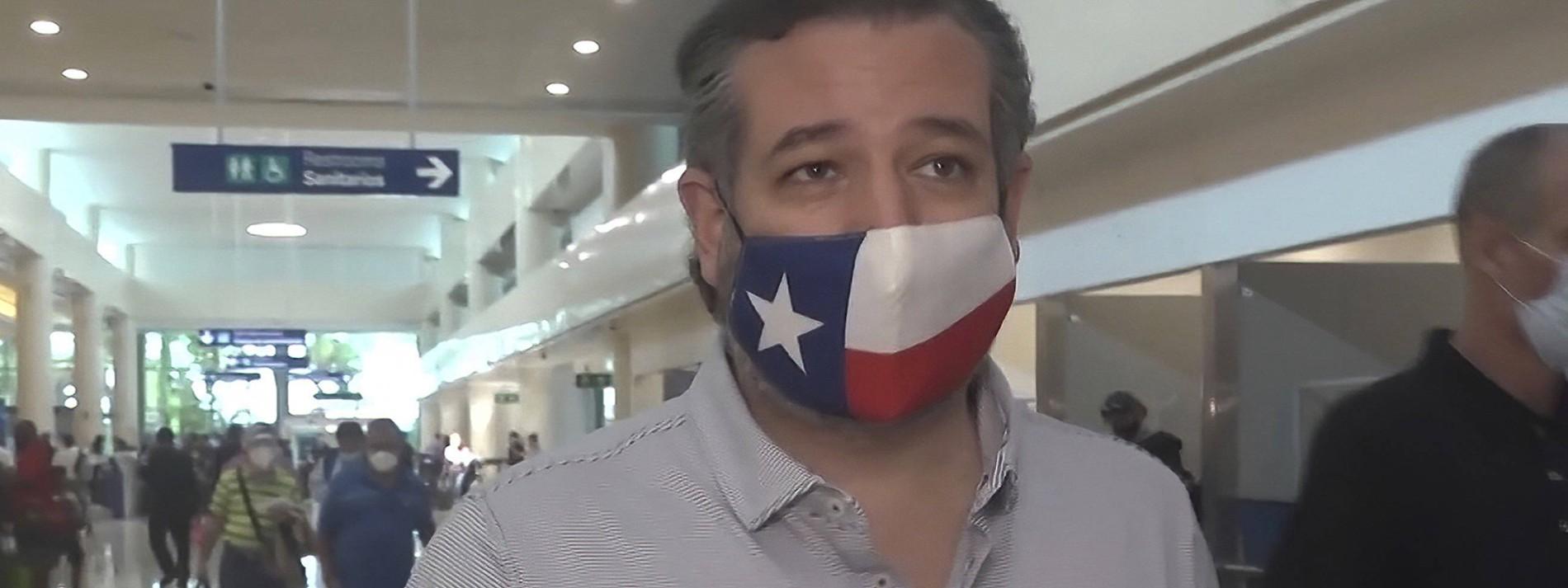 Wie Ted Cruz dem Winter in Texas entkommen wollte