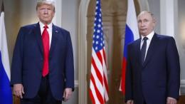 """Russland warnt Amerika vor """"Spiel mit dem Feuer"""""""