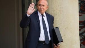 Gérard Collomb will die Regierung verlassen
