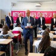 Frankreichs Bildungsminister Jean-Michel Blanquer im Oktober in Paris