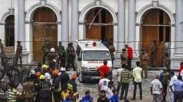 Erste Verhaftungen in Colombo
