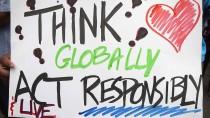 Die Demonstranten in New York fordern eine verantwortungsvollere Klimapolitik