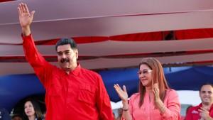 Maduro verkündet Kandidatur für Präsidentenwahl