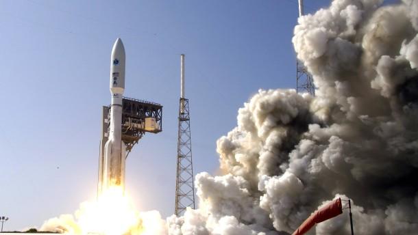 Erster Einsatz der Weltraumstreitkraft