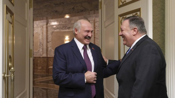 Amerika will Beziehungen mit Weißrussland verbessern