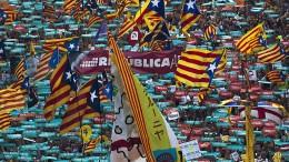 Katalanen drohen mit zivilem Ungehorsam
