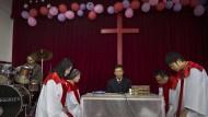 Gottesdienst: In einer protestantischen Untergrundkirche in China