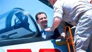 Vom Machtkampf zwischen Qatar und seinen arabischen Gegnern könnte der syrische Machthaber Bashar al Assad profitieren.