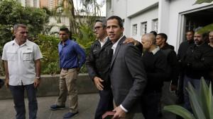 Guaidó ruft zu Generalstreik auf