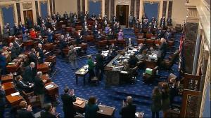 Senat stimmt Bidens Konjunkturpaket zu
