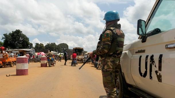 Bangen um Frieden vor Wahl in Zentralafrika