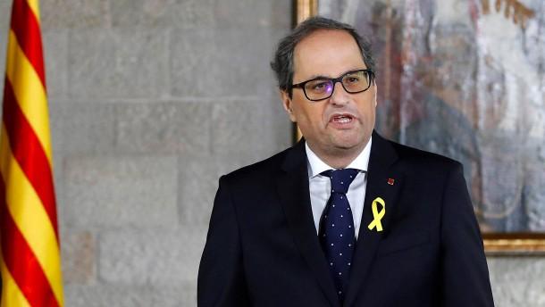 Neuer Regierungschef brüskiert Madrid