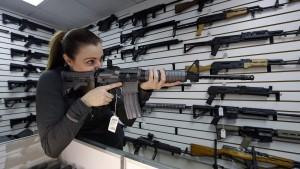 Gewehre vor Gericht